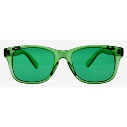 Color therapy glasses Classic - green