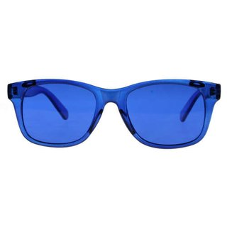 Color therapy glasses Classic - blue