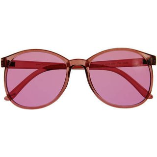 Color therapy glasses Round - baker-miller-pink