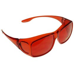 Color therapy glasses Medium - red