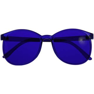 Color therapie glasses Round - Set of 10