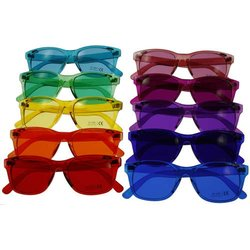 Color therapie glasses Classic - Set of 10