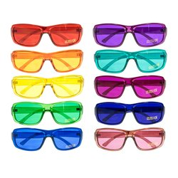 Colour glasses for children Pro Kids - Set of 10