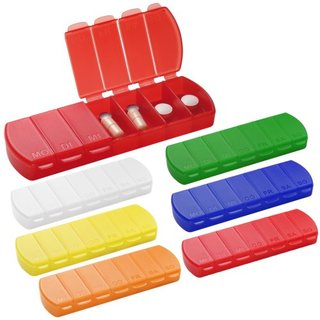 pill box Seven Days with 7 compartments