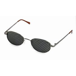 Metal pinhole glasses 420-GAG,  covered all over,...