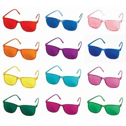 Colour Glasses Elegant 12 different colours