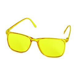 Colour Glasses Elegant yellow
