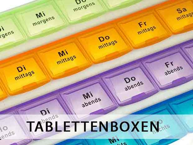 Tablettenboxen